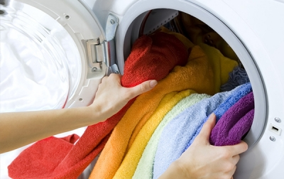 Daily wash of white and coloured garments